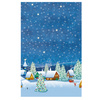 SUSY CARD Nappe centrale de Noel 'Stars and trees'