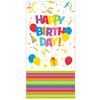 SUSY CARD Couvre table 'Happy Birthday', 1,20 x 1,80 mm