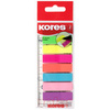 Kores Marque-pages repositionnable en film, 12 x 45 mm,